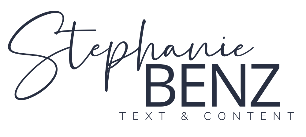 Stephanie Benz - Text & Content