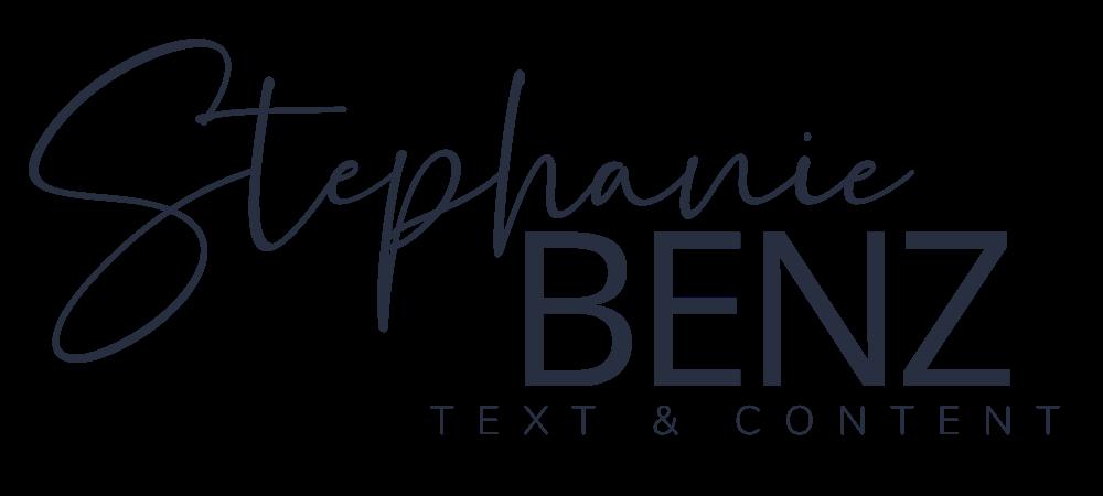 Stephanie Benz - Text & Content